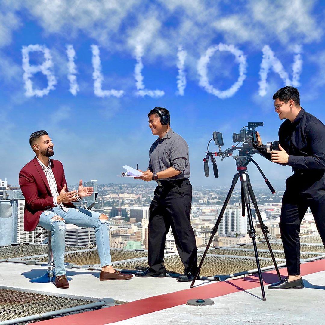 Dhar Mann Instagram billion views achivement photo