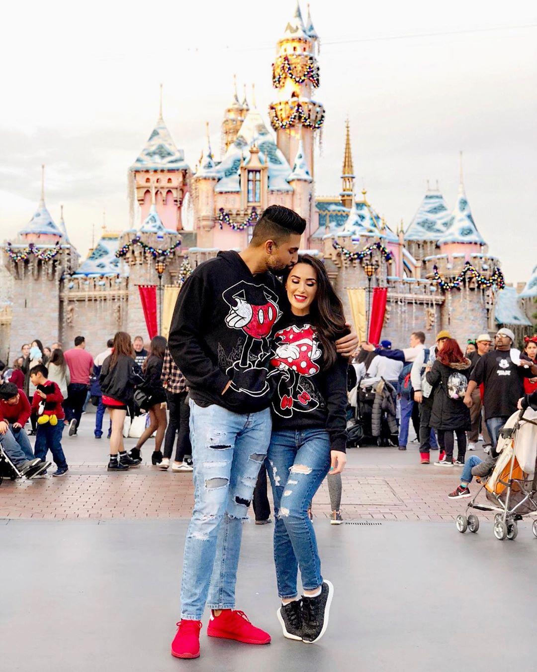 Dhar Mann Instagram photo at Disneyland