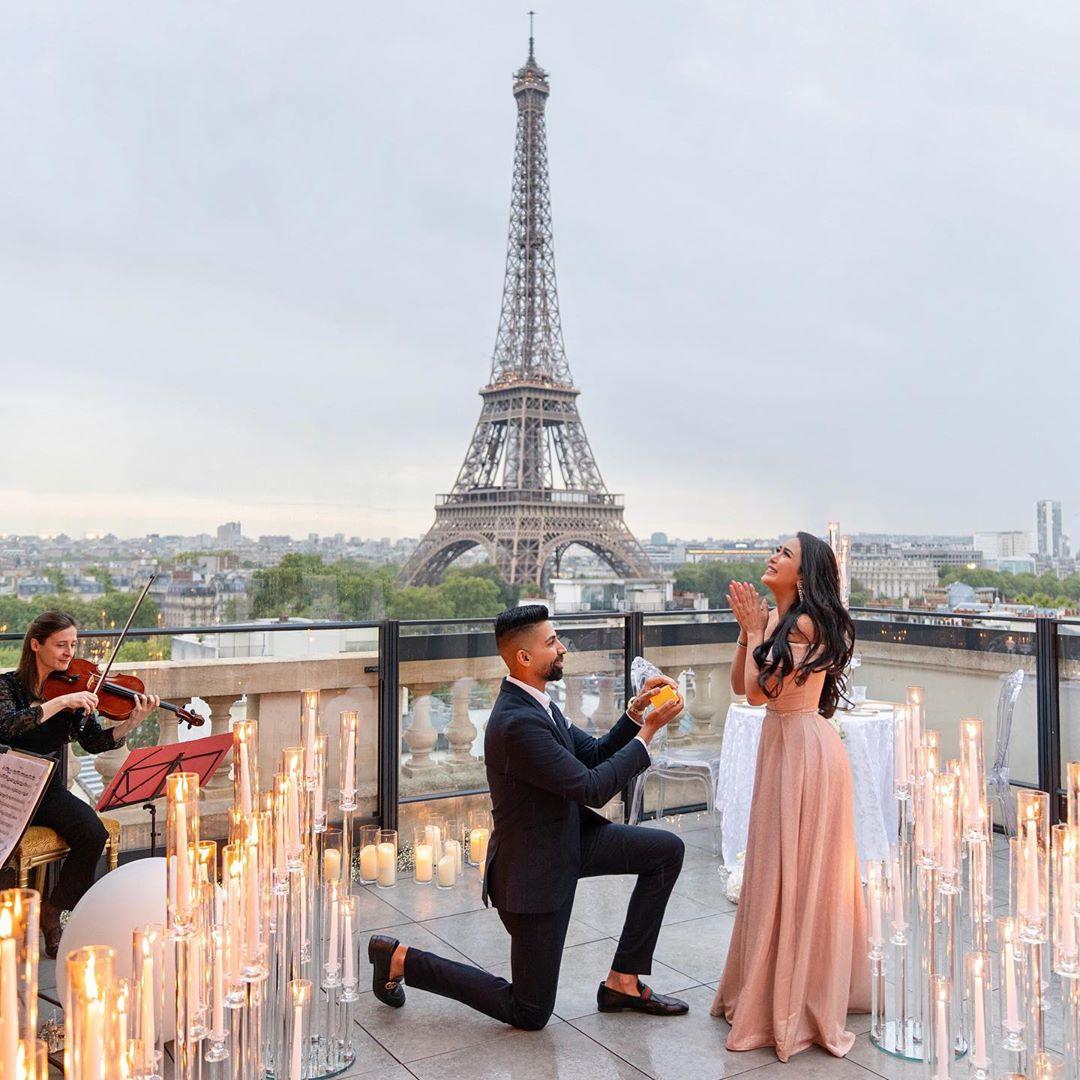 Dhar Mann Instagram photo of proposal