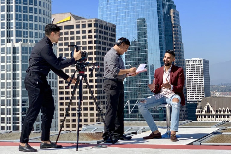 Dhar Mann Productions video company in Los Angeles