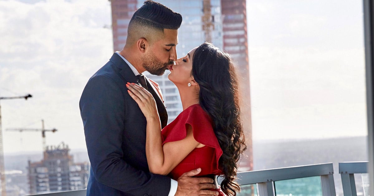 Dhar Mann and Laura G kissing