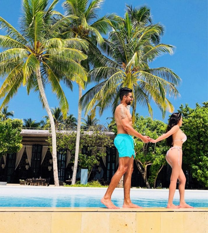 Dhar Mann and girlfriend Laura G enjoying vacation in the Maldives